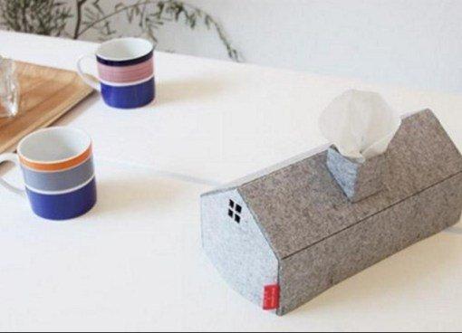 Прикольные коробки с одноразовыми салфетками