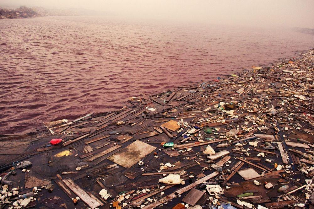 Самый грязный остров на Мальдивах