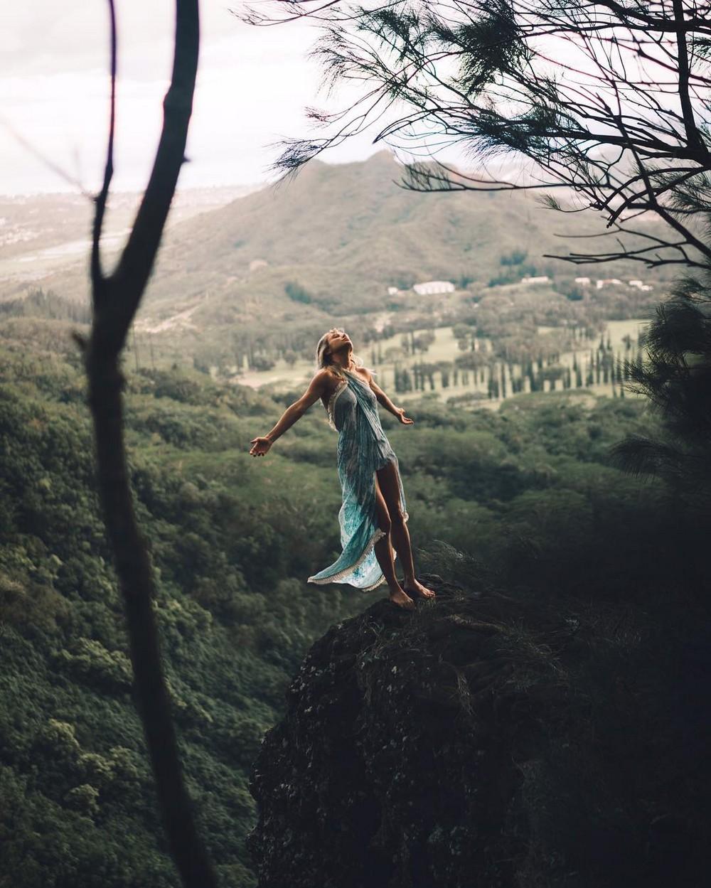 Сара Андервуд на снимках из Instagram