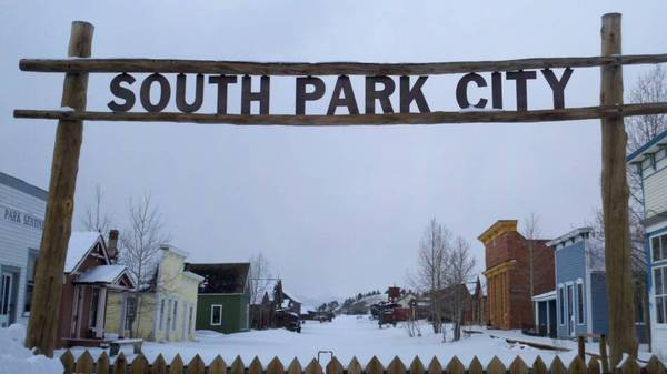 Заброшенный город-музей South Park City