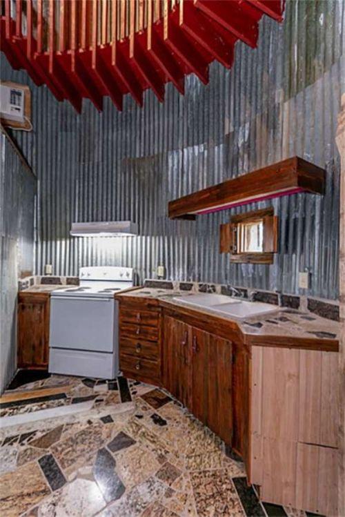 Американец построил дом в форме сапога