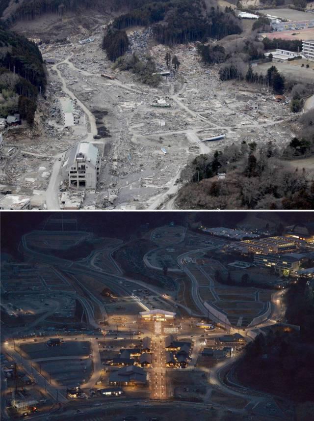 АСЭ Фукусима-1 спустя 6 лет после аварии