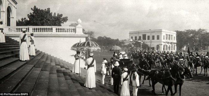 Белые хозяева колоний: роскошная жизнь вице-королей Индии