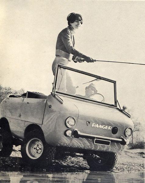 Итальянский Ferves Ranger для рыбалки