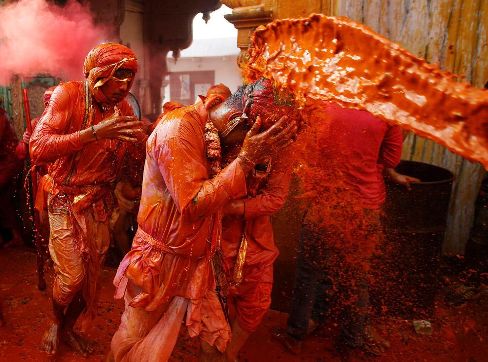 Холи 2017 - самый красочный праздник Индии