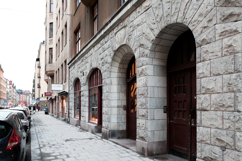 Интерьер стокгольмской квартиры площадью 34 кв. метра