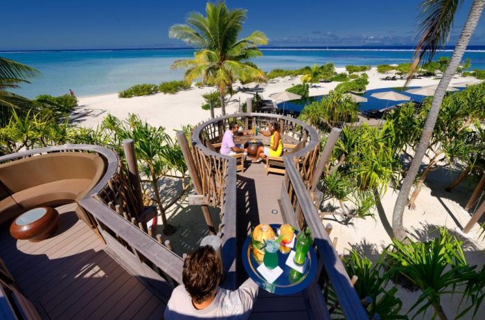 Остров Марлона Брандо во Французской Полинезии