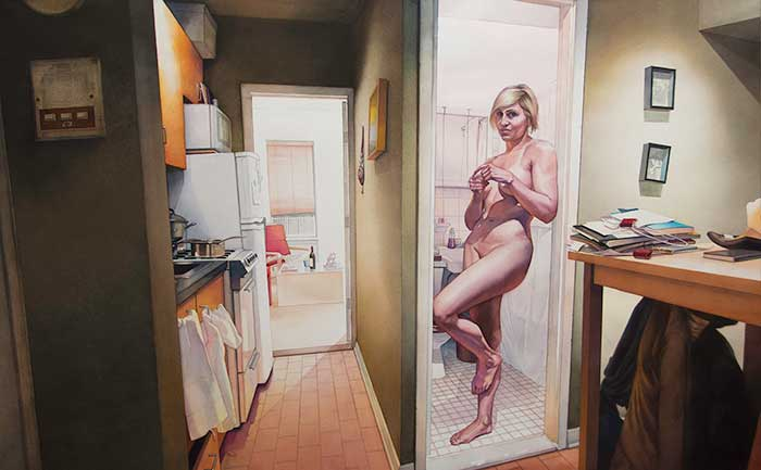 Художник-гиперреалист исследует интимные отношения в домашней обстановке
