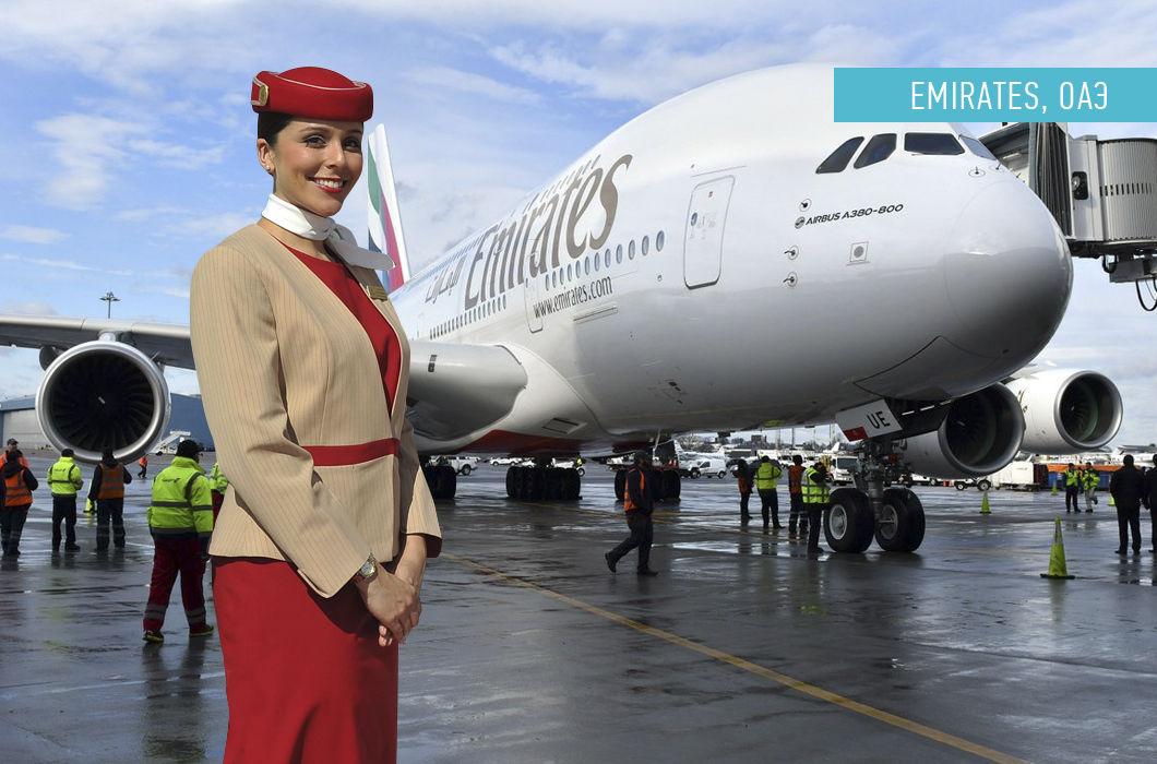 Форма стюардесс разных стран