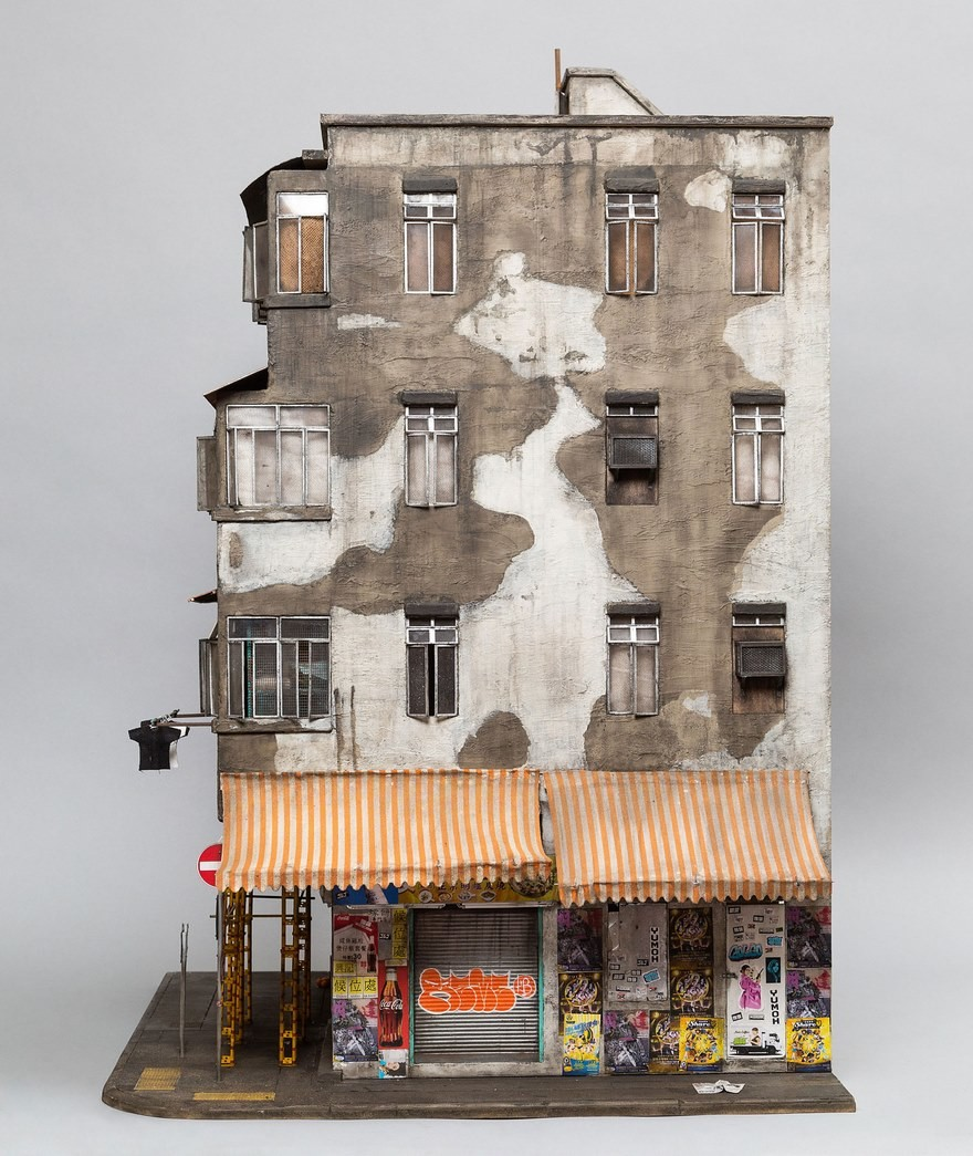 Невероятные бумажные дома от австралийского художника
