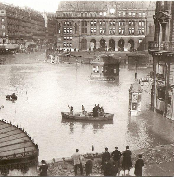 Фотографии Парижа 1800-1900 годов