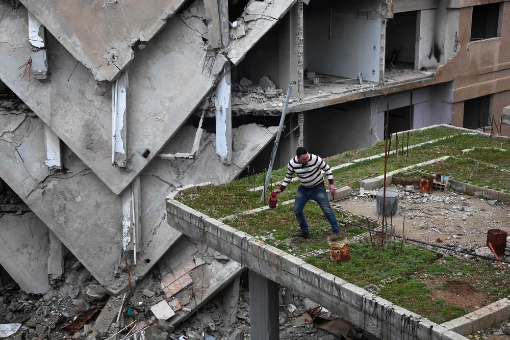 Фотографии жизни в Сирии, сделанные в марте