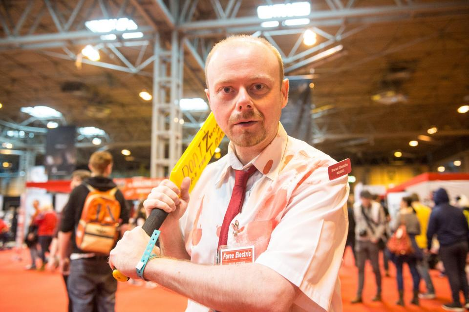 Удивительные костюмы участников Comic Con в Бирмингеме
