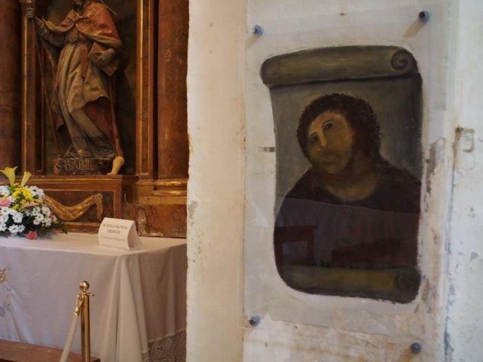 Почему испорченную фреску Ecce Homo не стали восстанавливать