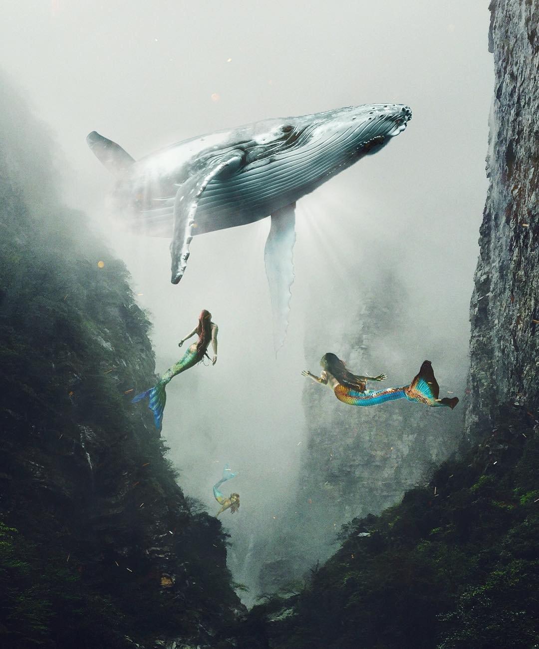 Сюрреалистические изображения художника Хюсейна Шахин
