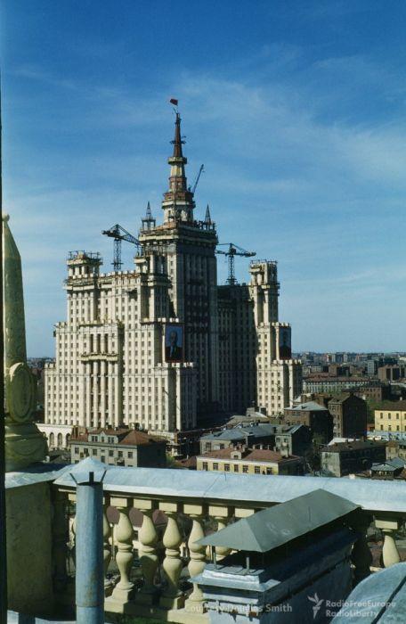 Москва начала 1950-х на фото от американского дипломата