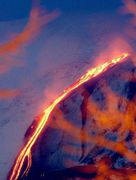 Огненная гора Этна