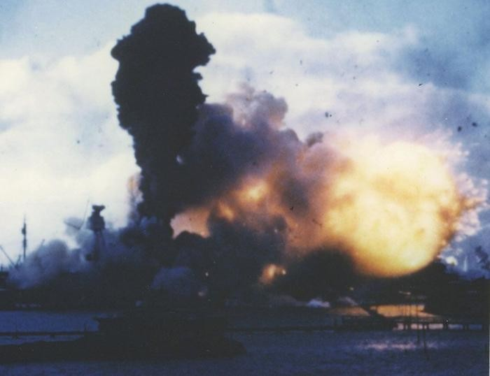 Редкие кадры атаки на Перл Харбор