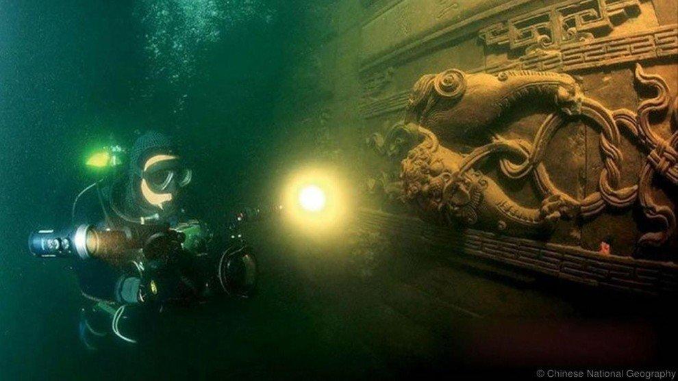 Подводные древние города