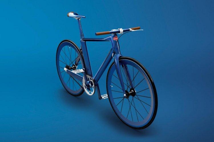 Солидный велосипед Bugatti
