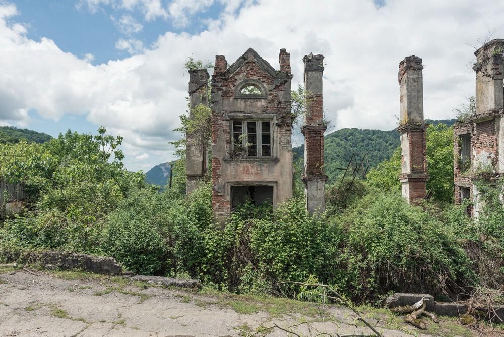 Заброшенная Абхазия