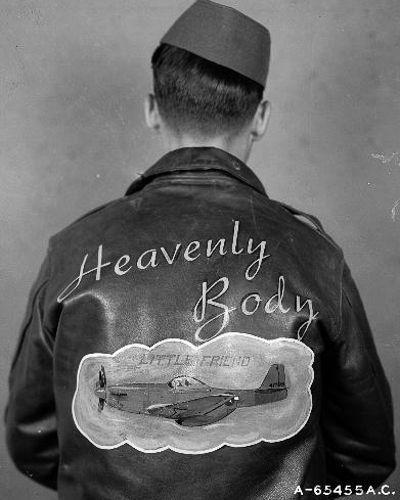 Рисунки на куртках американских пилотов Второй мировой войны