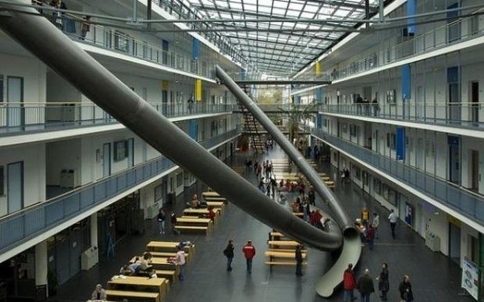 Горки в Мюнхенском техническом университете