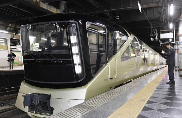 Shiki-Shima – уникальный японский поезд класса люкс