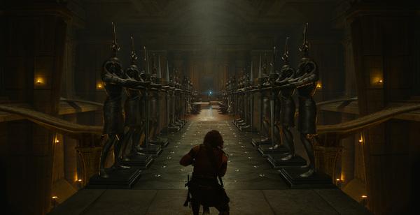 Кадры из фильма Боги Египта - до и после обработки
