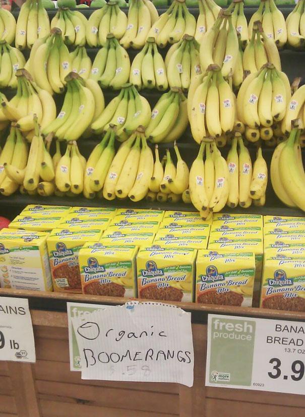 Креативная реклама в супермаркетах
