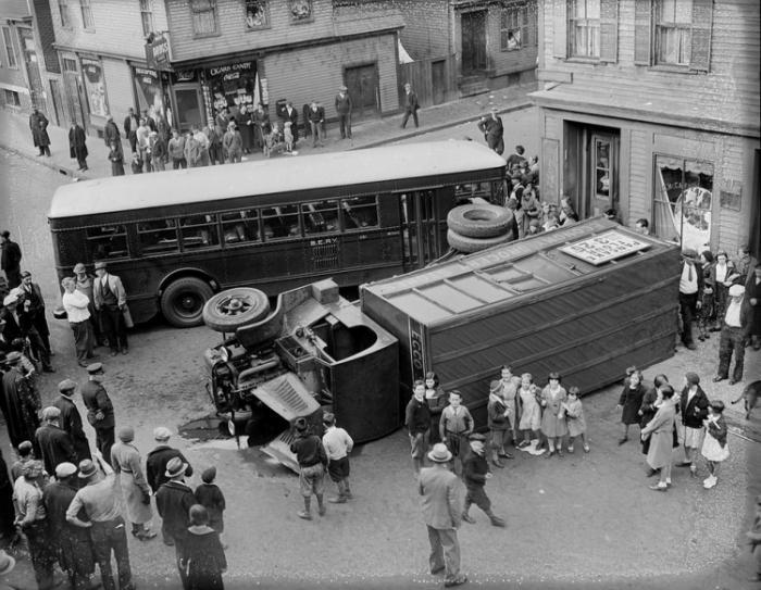 Автомобильные аварии из прошлого