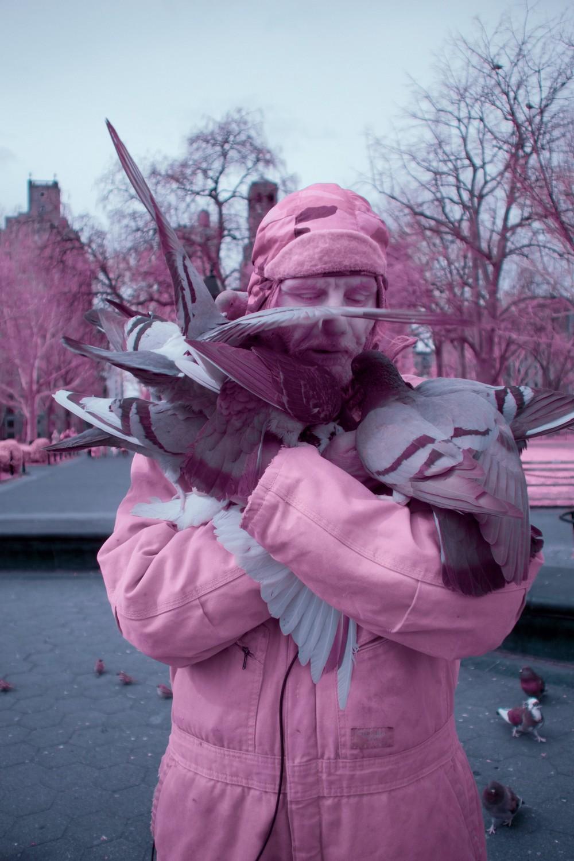 Инфракрасные снимки Нью-Йорка от Райана Берга