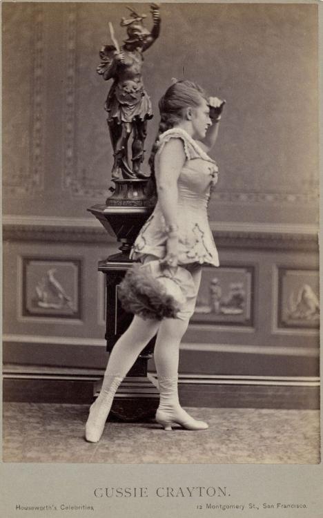 Танцовщицы 19 века