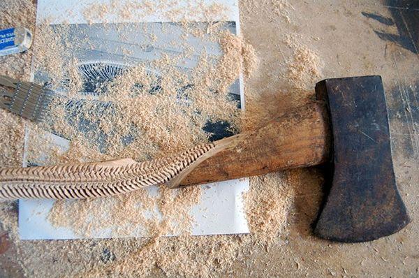 Анатомическая резьба по дереву