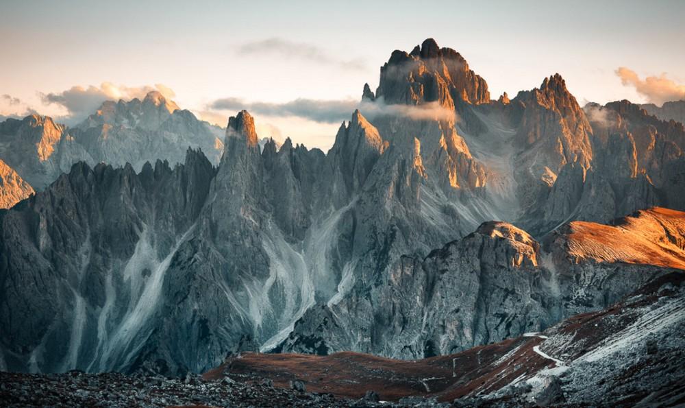 Красивые пейзажи от Гуереля Сахина