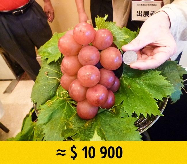 Редкие фрукты по заоблачным ценам
