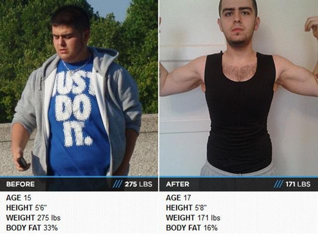 45 людей, которые превратили жир в спортивное тело