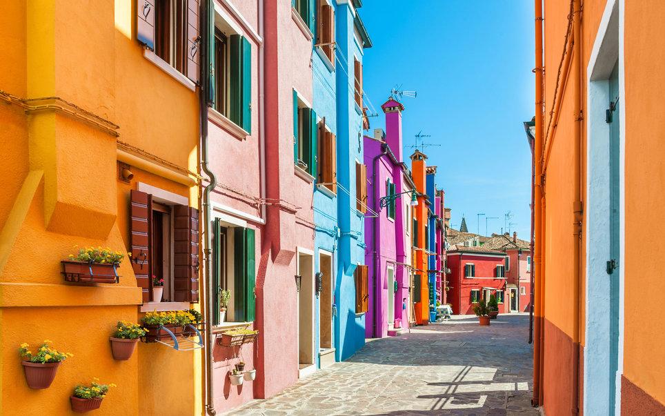 Список самых красочных городов планеты