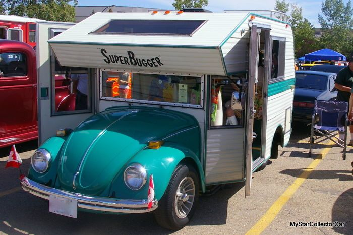 Super Bugger - редкий дом на колесах на базе Volkswagen Beetle