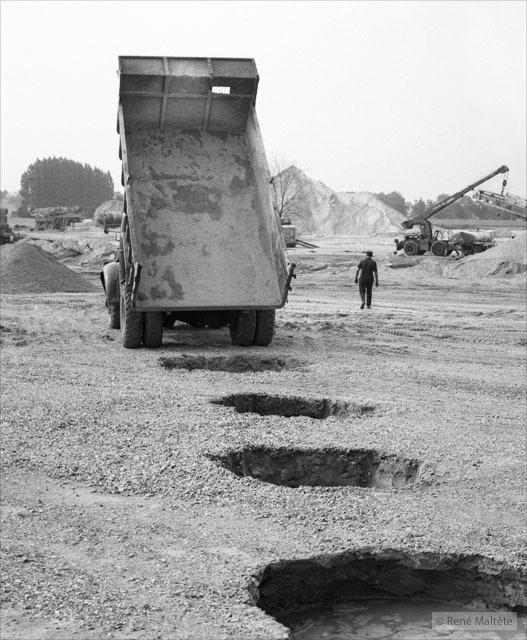 Юмористические фотографии 1950-х годов от Рене Мальтета