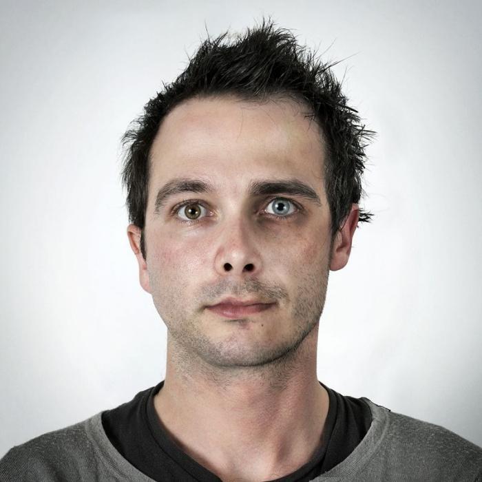 Генетические портреты: лица близких родственников