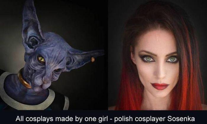Польская любительница косплея