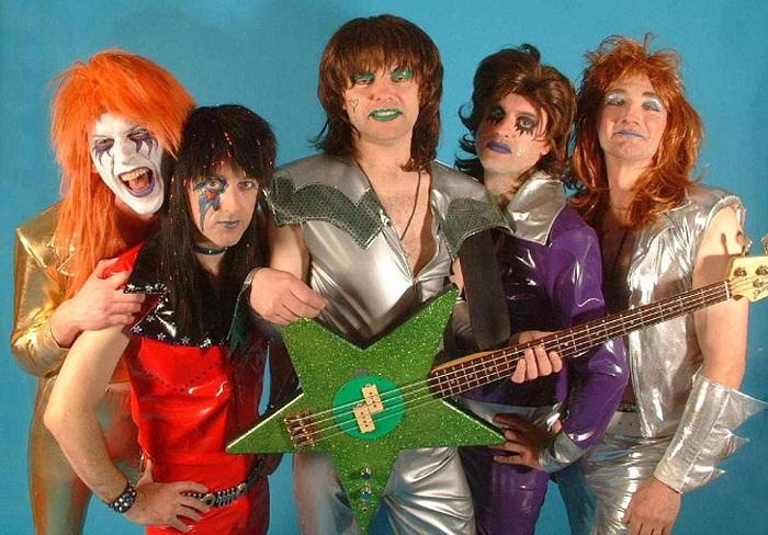 Сценические образы рок-звезд 1980-х