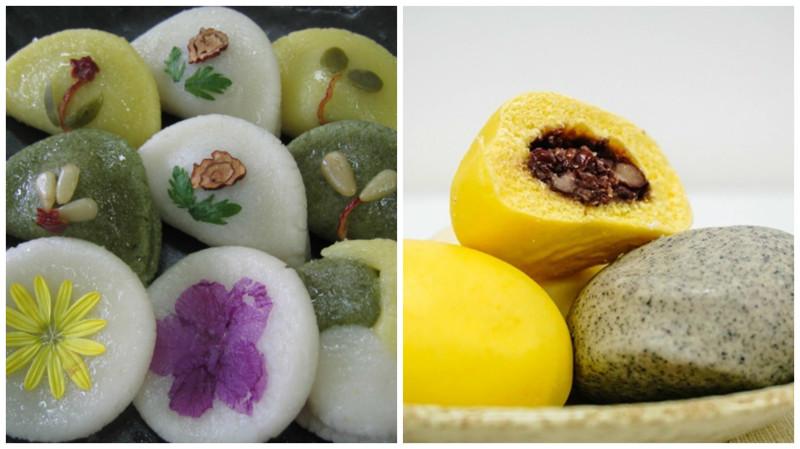 Вкусные и полезные корейские сладости