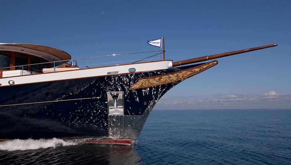 Шикарные яхты в лучших традициях