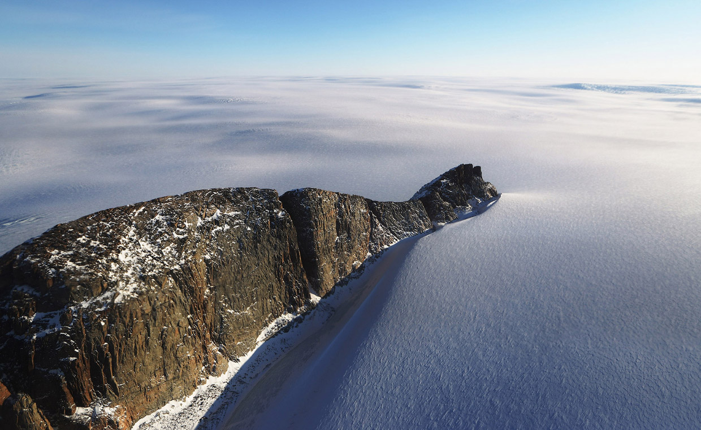 Канада и Гренландия с высоты