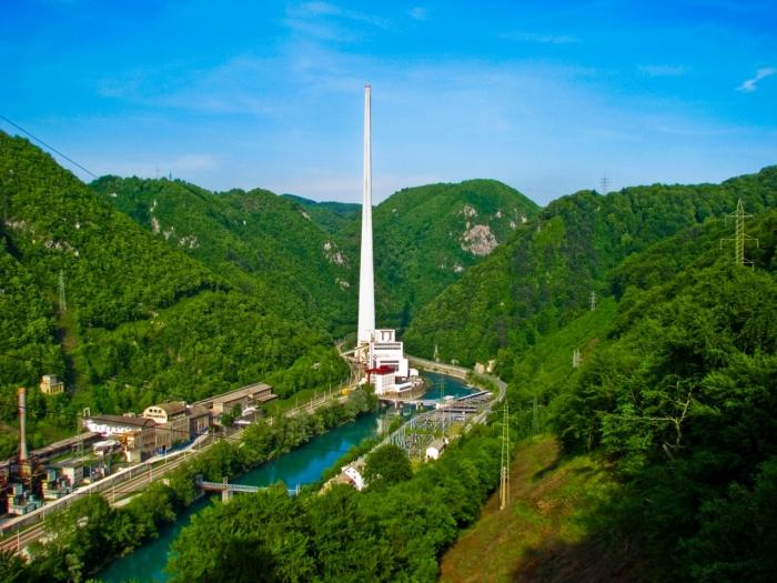 Самая высокая в Европе дымовая труба