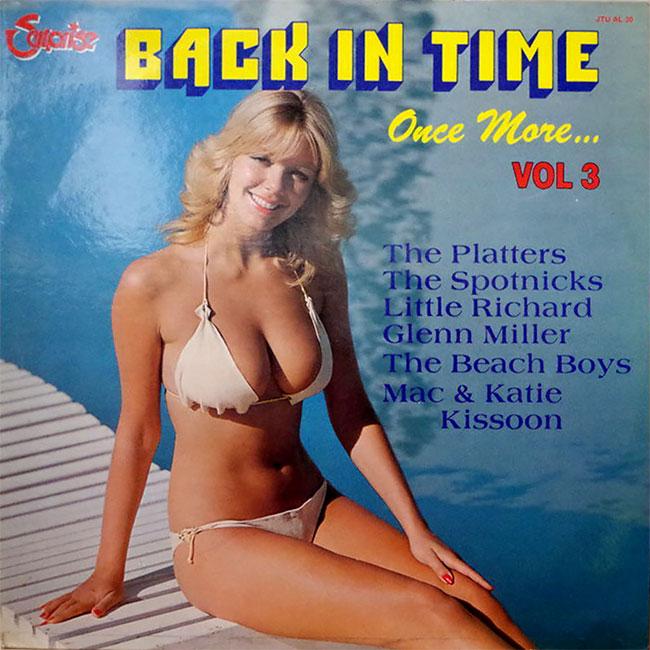 Соблазнительные девушки в бикини с обложек пластинок 60-80-х годов