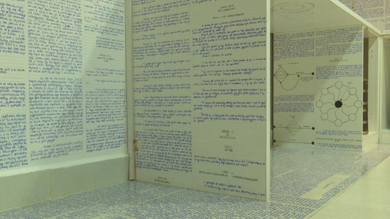 Студент написал 14 зашифрованных книг с посланием для человечества и исчез