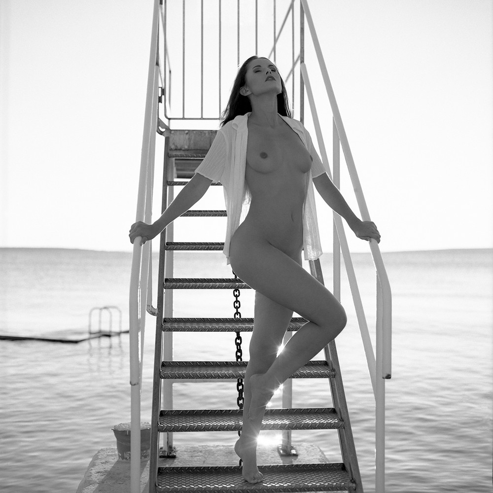Черно-белое Ню от NinoVeron
